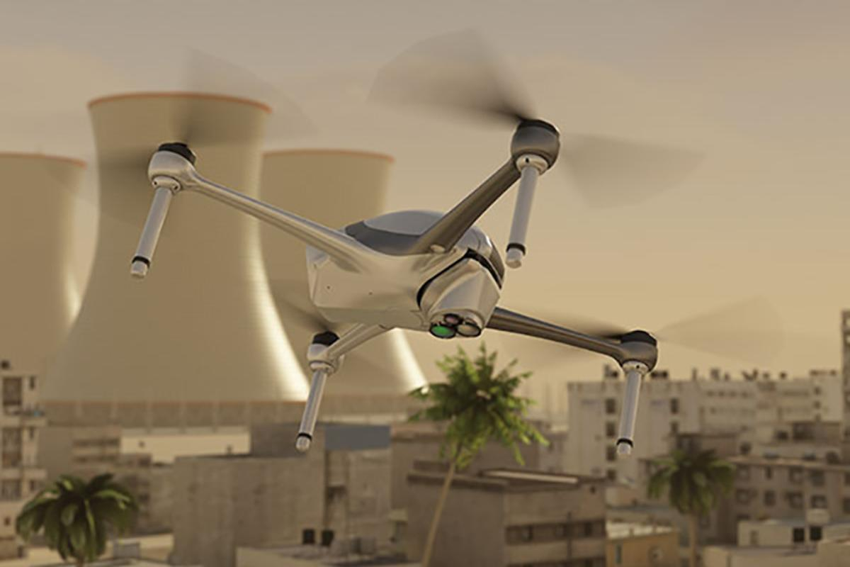 The company has fixed the SpectroDrone system to an Airobotics Optimus drone to show what it can do