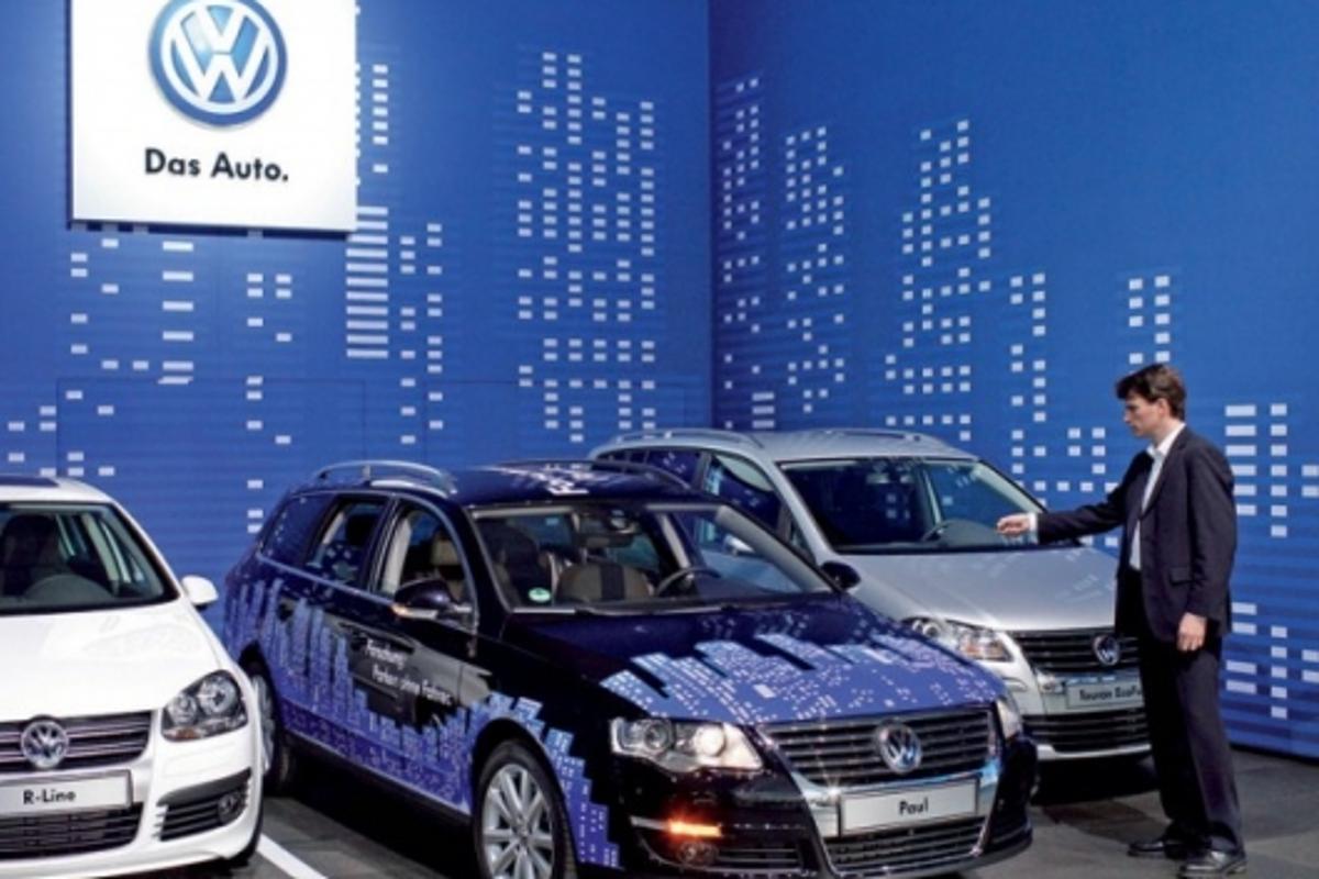 Volkswagen's Park Assist Vision system