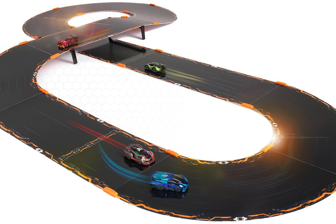 Anki Overdrive moves from the roll out tracks of its predecessor to modular sections so that users can build their own circuits