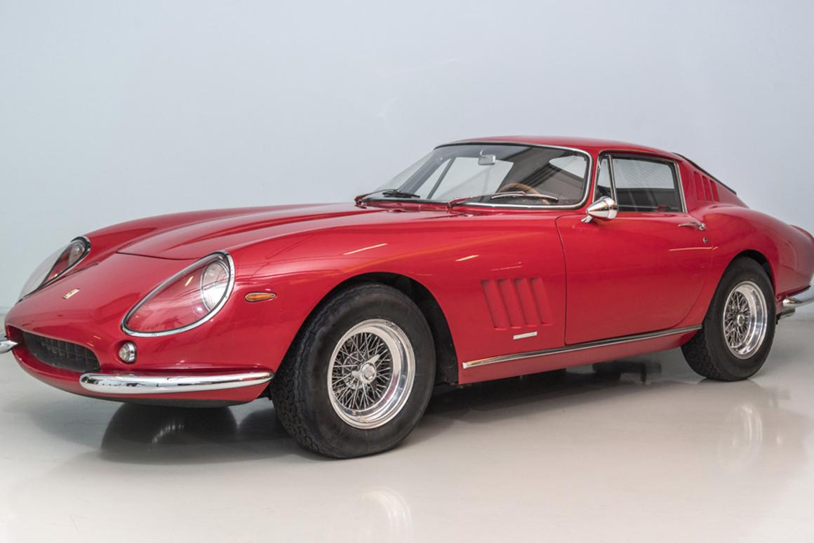 The Ferrari 275 GTB/4 was first seen at the 1966 Paris Auto Salon, and the car to be sold by Coys on May 18, 2017 is that very same car - the prototype.