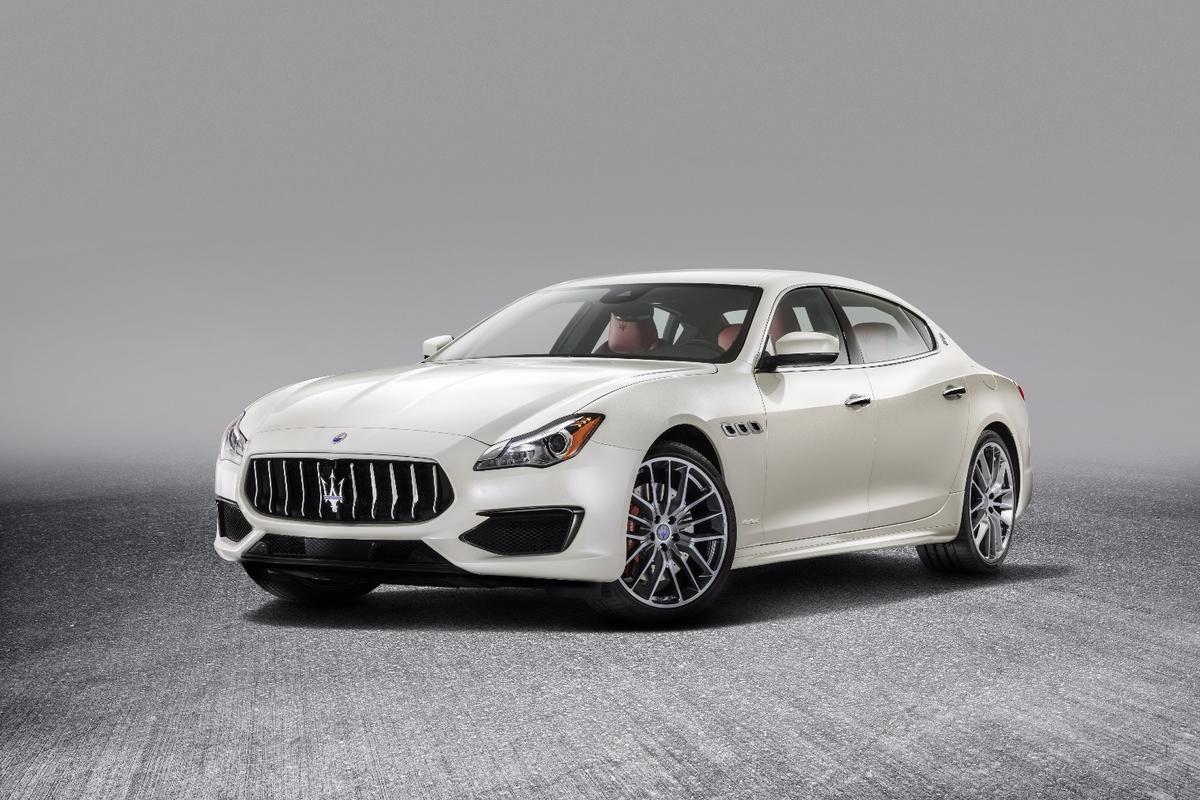 The refreshed MaseratiQuattroporte