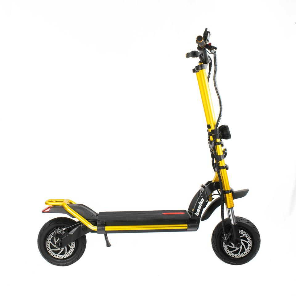 Voro Motors lists rider weight up to 400 lb