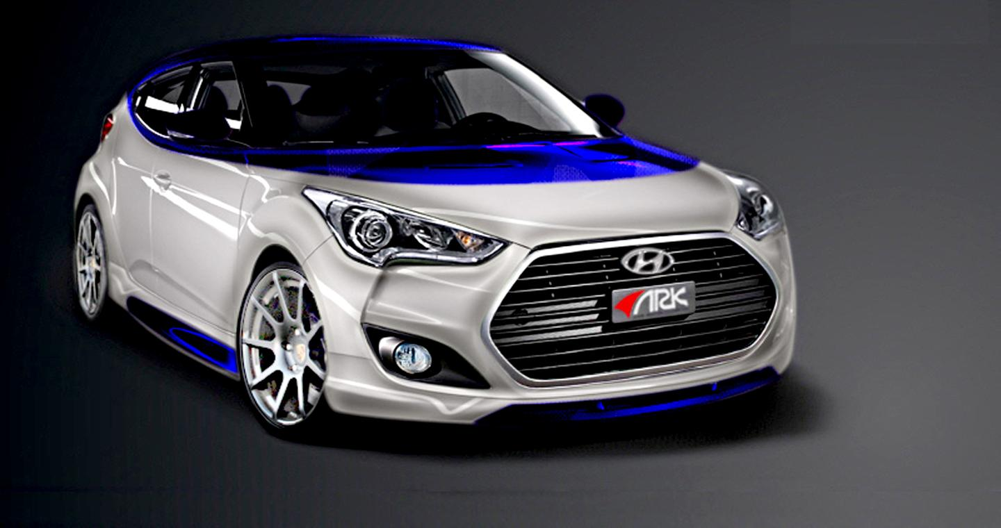 The Veloster Alpine will be on display at the SEMA Show