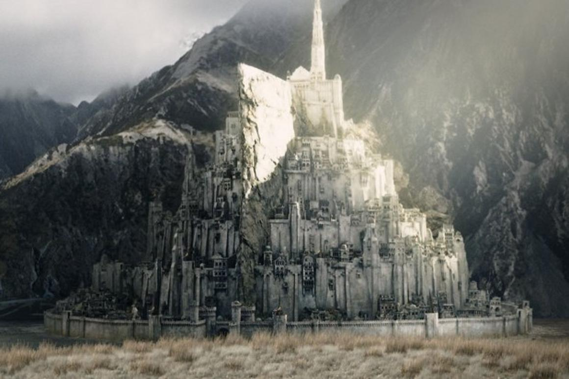 The city would be a replica of Peter Jackson's movie depiction of Minas Tirith