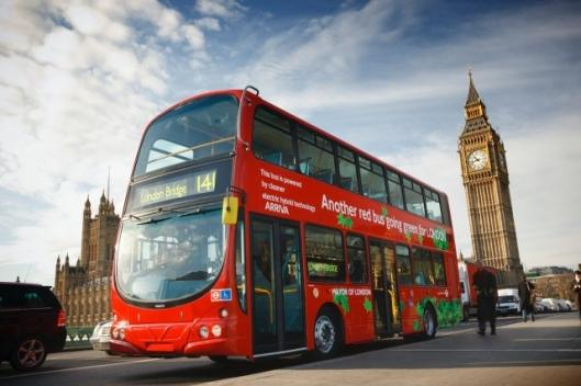 The new Volvo B5L hybrid bus makes London's iconic double-decker very green on the inside