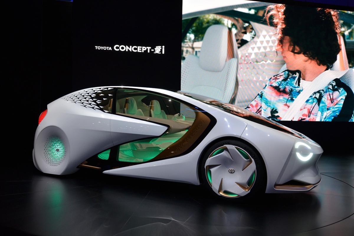 Toyota Concept-i, CES2017
