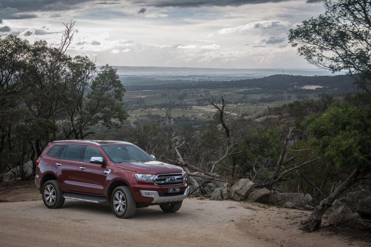 The Ford Everest ticks a lot of SUV boxes, but it comes at a price