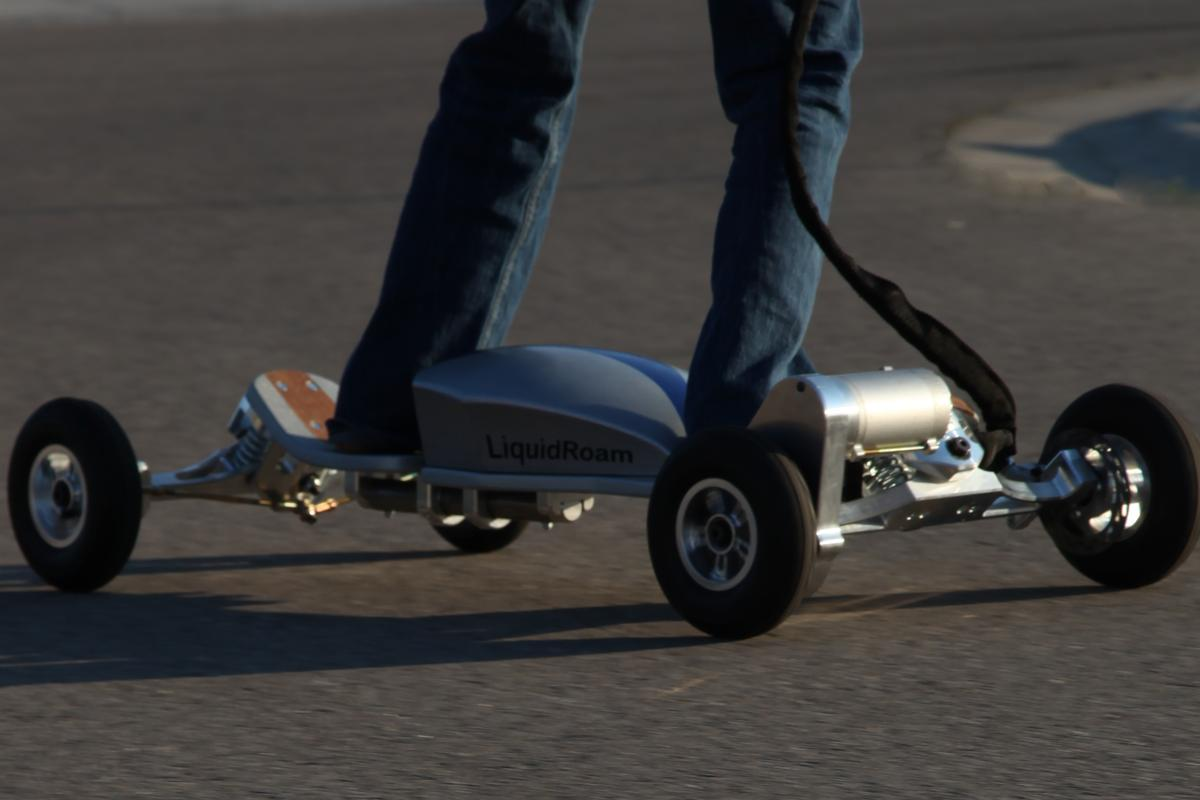 LiquidRoam has announced that the first early adopter RoamBoards - which feature technologies seen in the electric skateboard, bicycle, snowboard, and automotive industries - are now available for purchase