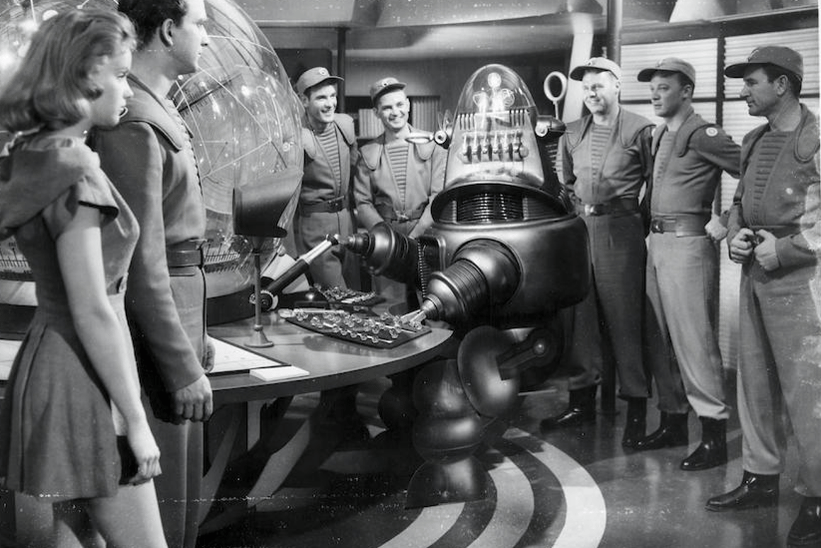 The Bonhams sale includes props, costumes and models from the film Forbidden Planet