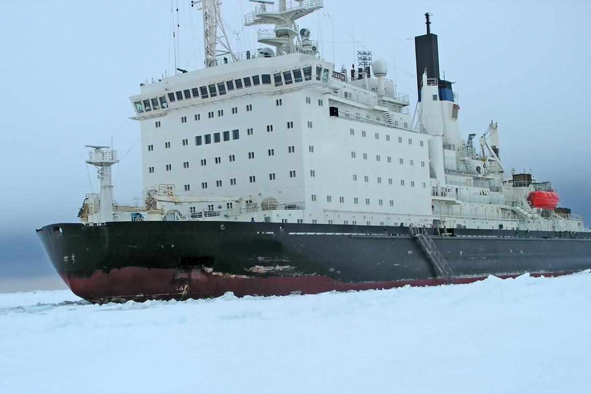 How nuclear icebreakers work - and the reversible ships that
