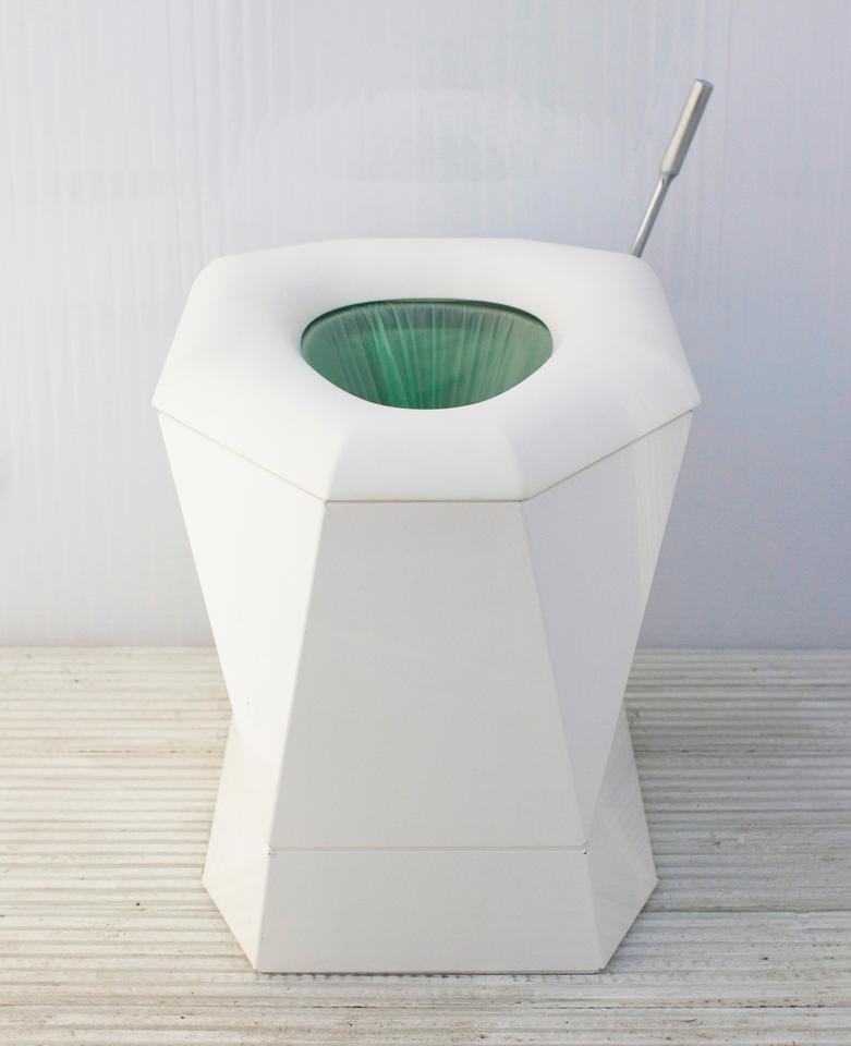 A Loowatt toilet