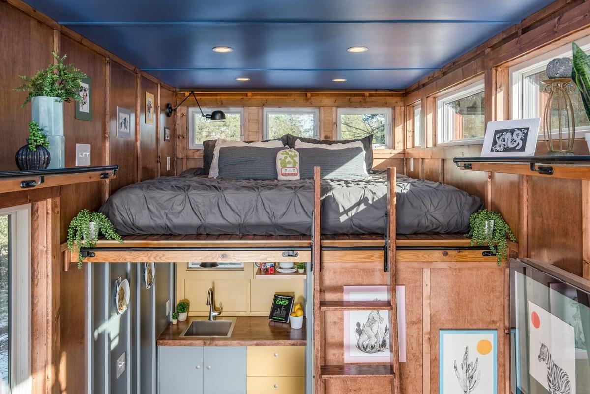 The Cornelia Tiny House, by New Frontier Tiny Homes
