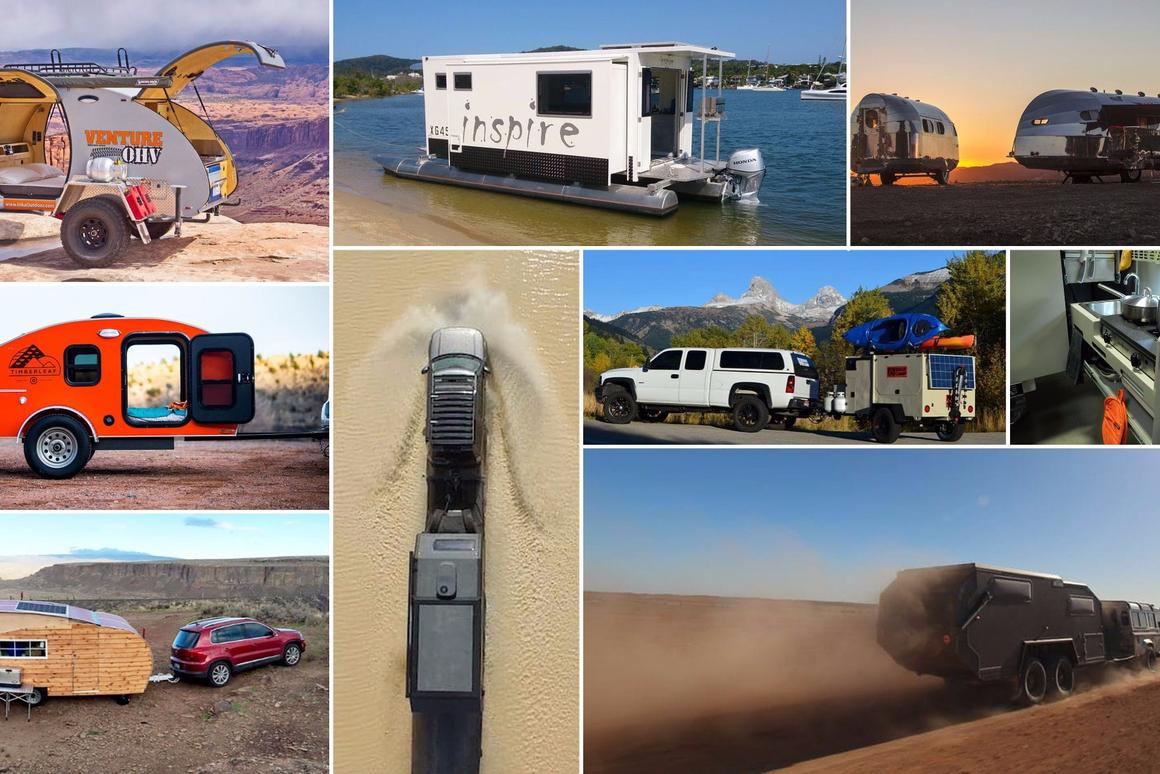 New Atlas looks at the top 10 camping trailers we saw in 2016