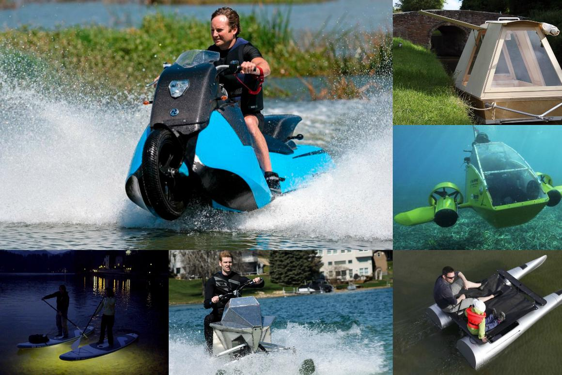 Some of the water toy highlights of 2015