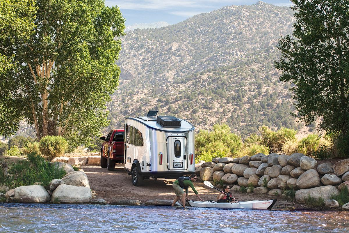 Airstream has just launched a beefier model of its Basecamp trailer, the Basecamp X