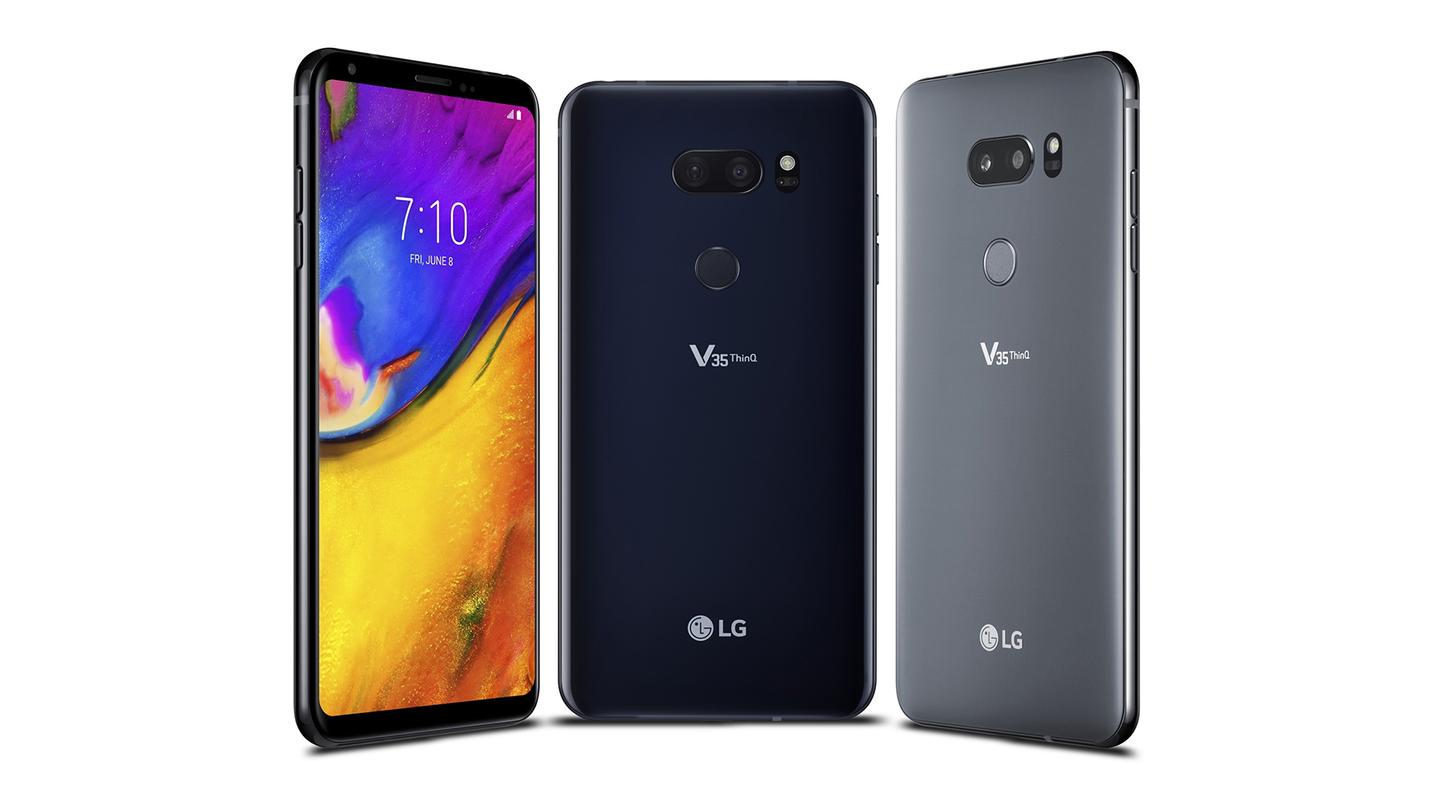 The LG V35 ThinQ is aimed primarily at the US market