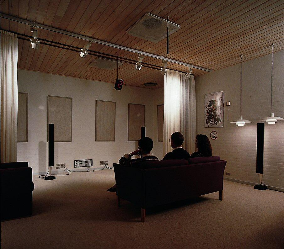 Bang & Olufsen's new IWS speaker range may soon be heading for listening rooms like this one for pre-launch testing