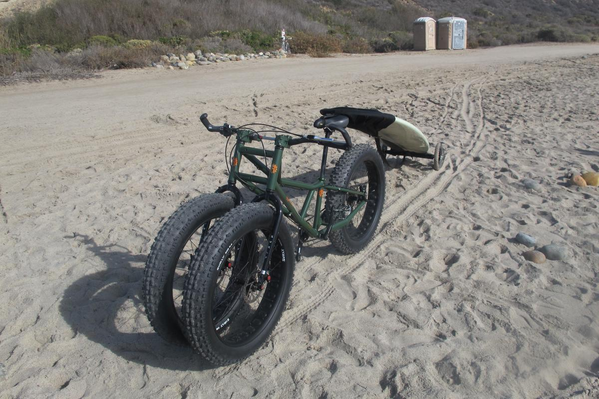 The design of the Rungu was inspired by trying to transport surfboards across the sand