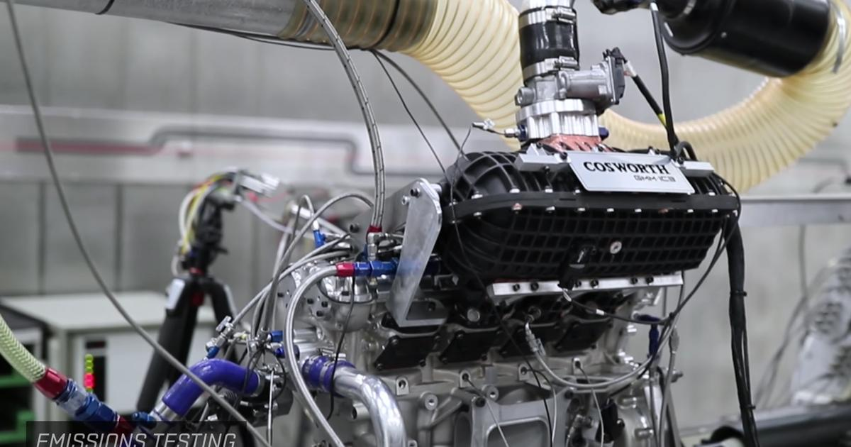 1/4 of the world's highest-revving production car engine hits the dyno