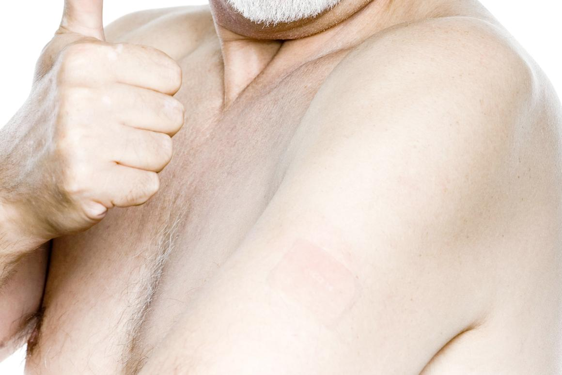 New technology may allow transdermal patches to pump out medication by harnessing the wearer's own body heat (Photo: Shutterstock)