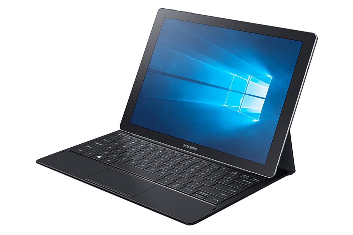 The TabPro S is Samsung's new 2-in-1 Windows 10 machine