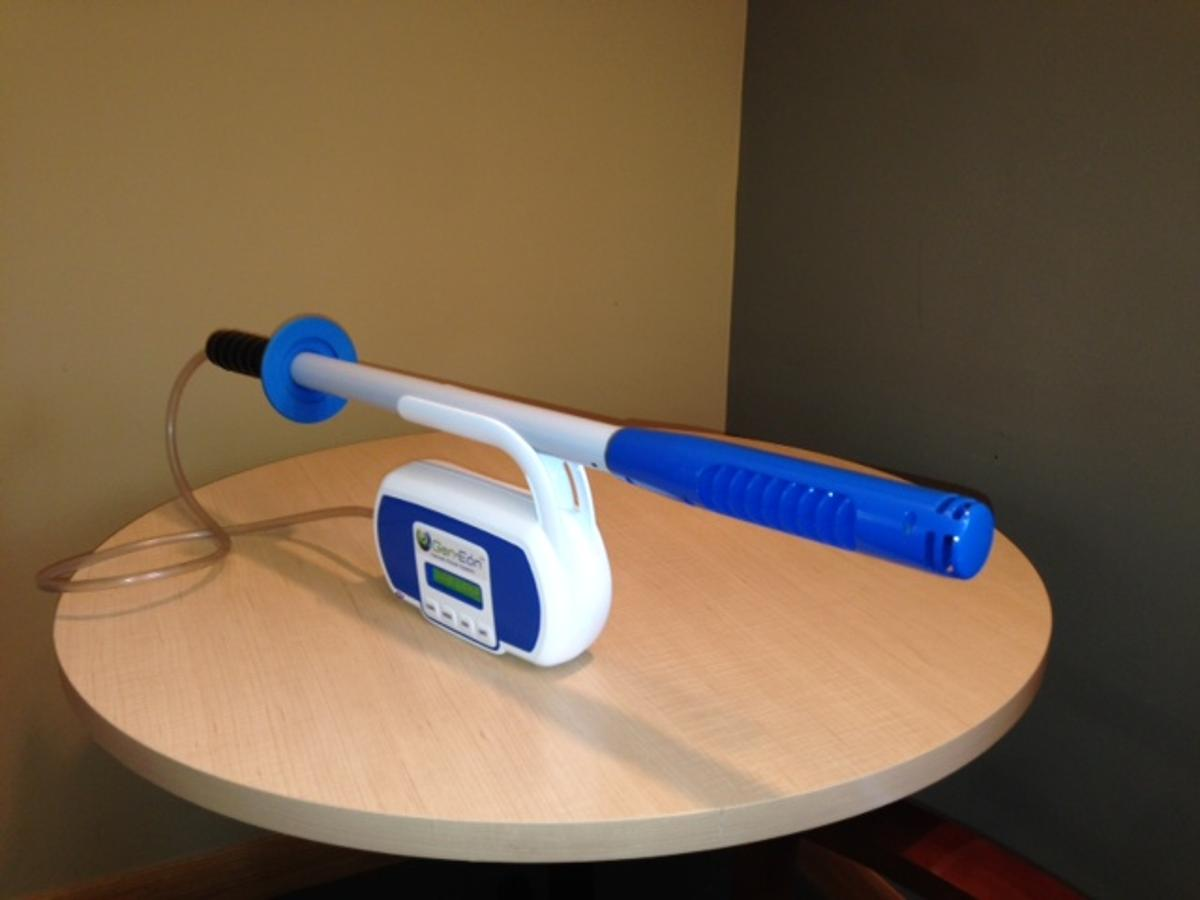 """The Immerse-A-Clean wand is said to be much more portable than existing """"bleach generators"""""""