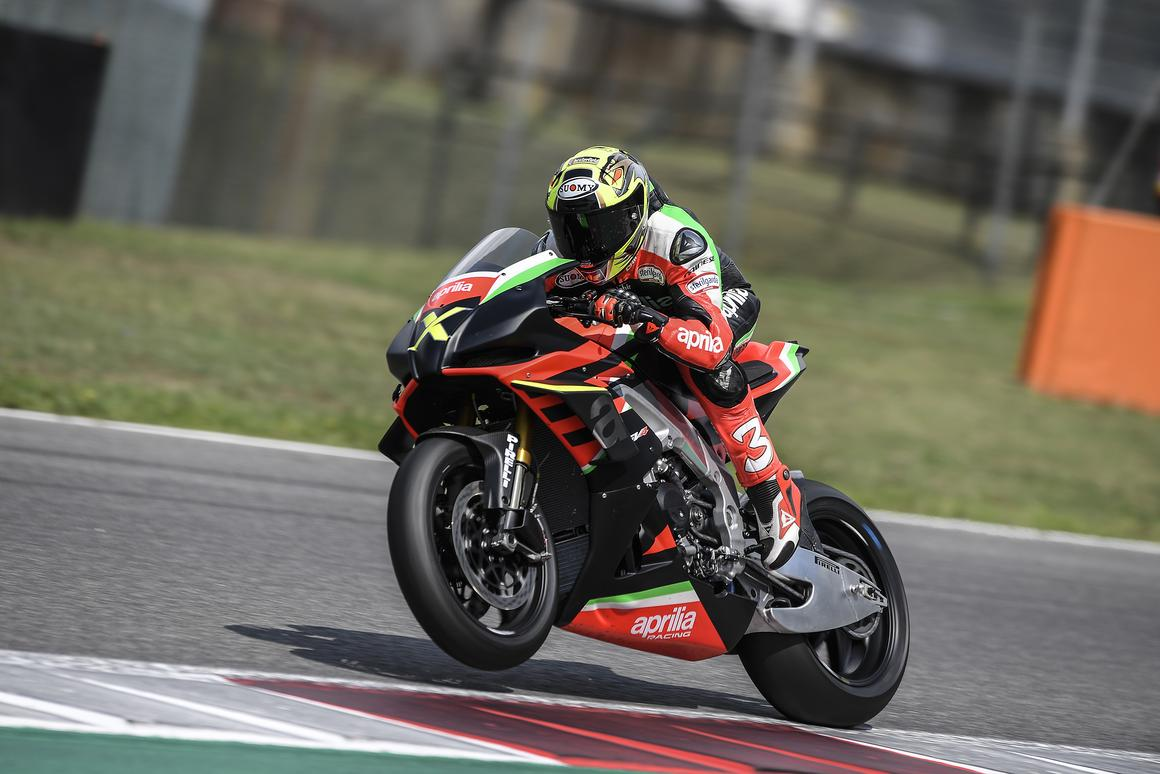 "The ultra-exclusive Aprilia RSV4 X has a stratospheric power-to-weight ratio and a weird ""no neutral"" gearbox"