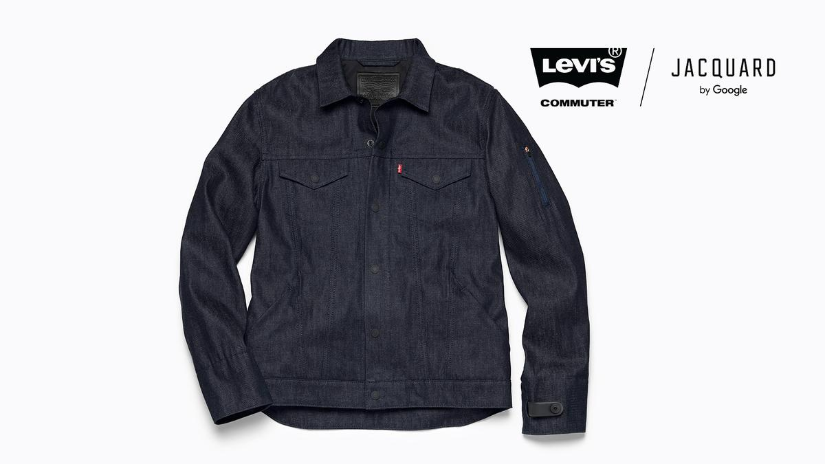 Levi's smart denim jacket has Google Jacquard technology woven right in