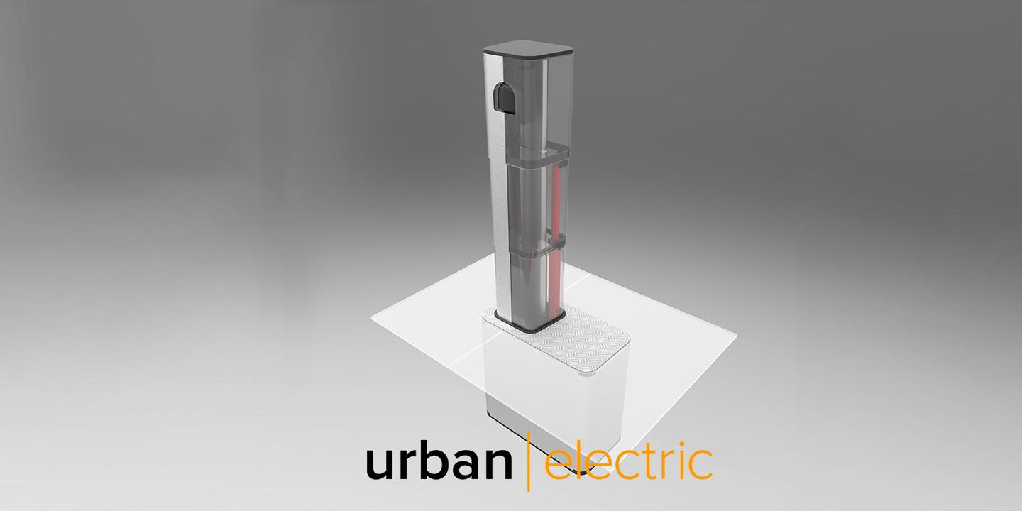 The City of Oxford is to trial the UEone pop-up charger