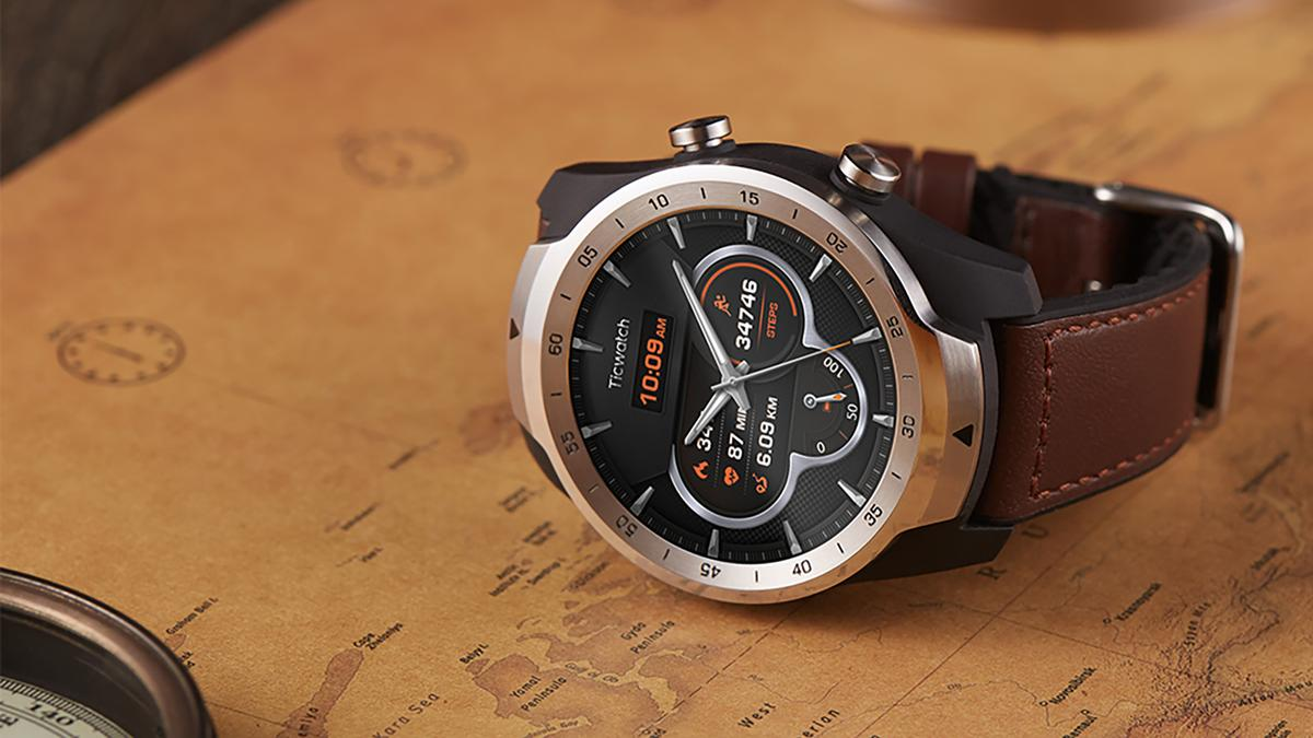 The Ticwatch Pro arrives running Google's Wear OS software