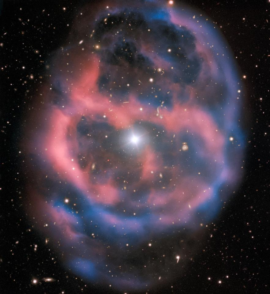 ESO 577-24 is located roughly 1,400 light-years from Earth