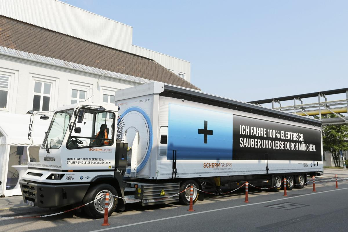 BMW's electric truck can cover 100 km on one charge