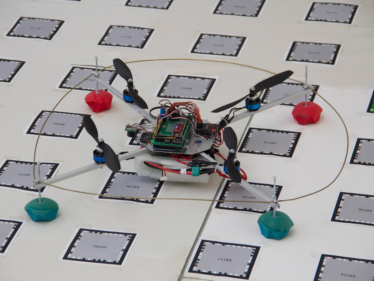 "Vienna University of Technology's ""smartphone quadcopter"""