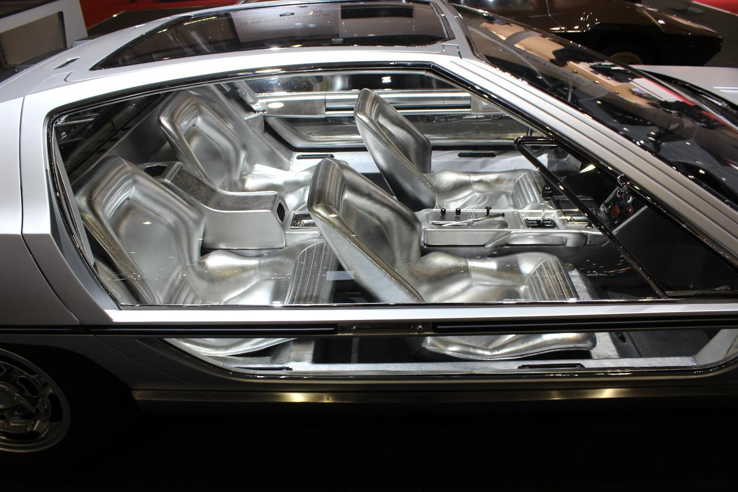 The ultra-shiny 1967Lamborghini Marzal concept from Bertone was one of the immediate highlights of Geneva 2018