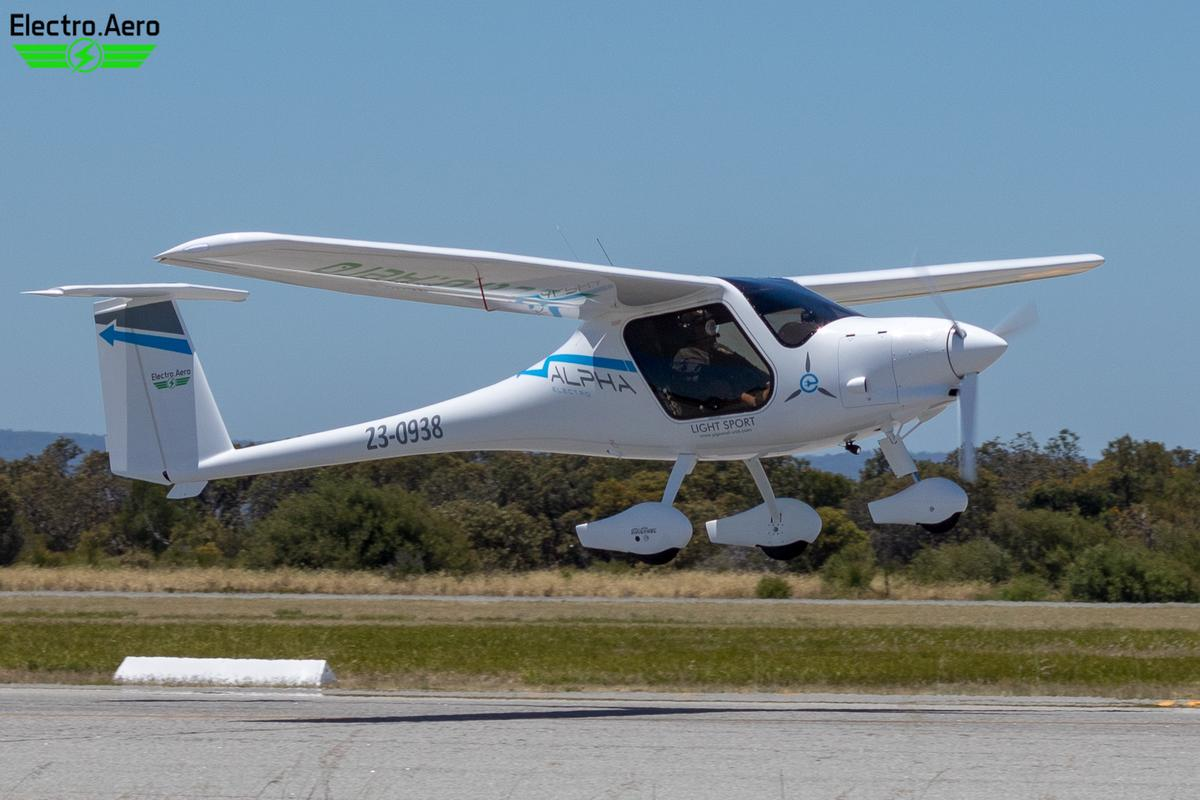 Electro.Aero plans to use the battery electric plane for new pilot training