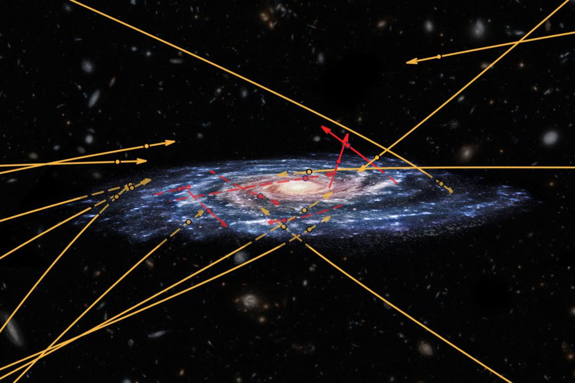 Sprinting stars in the Milky Way