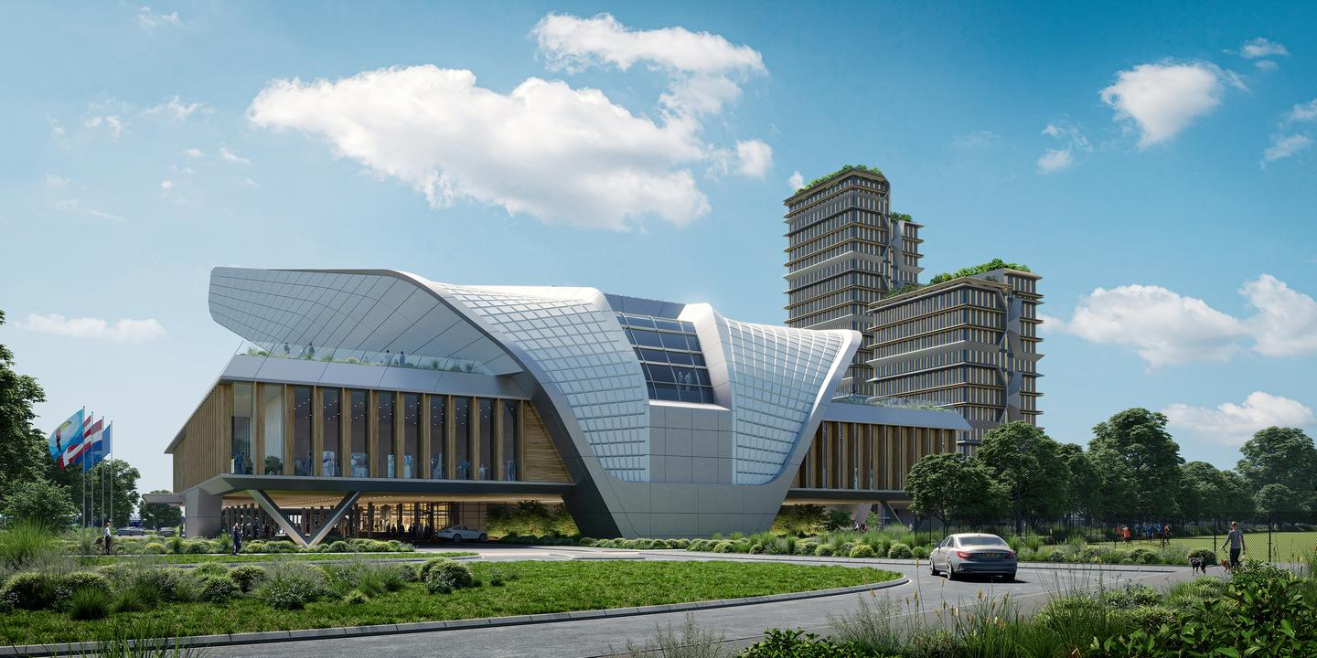 The Elysion Congress Centre is slated to be completed in 2025