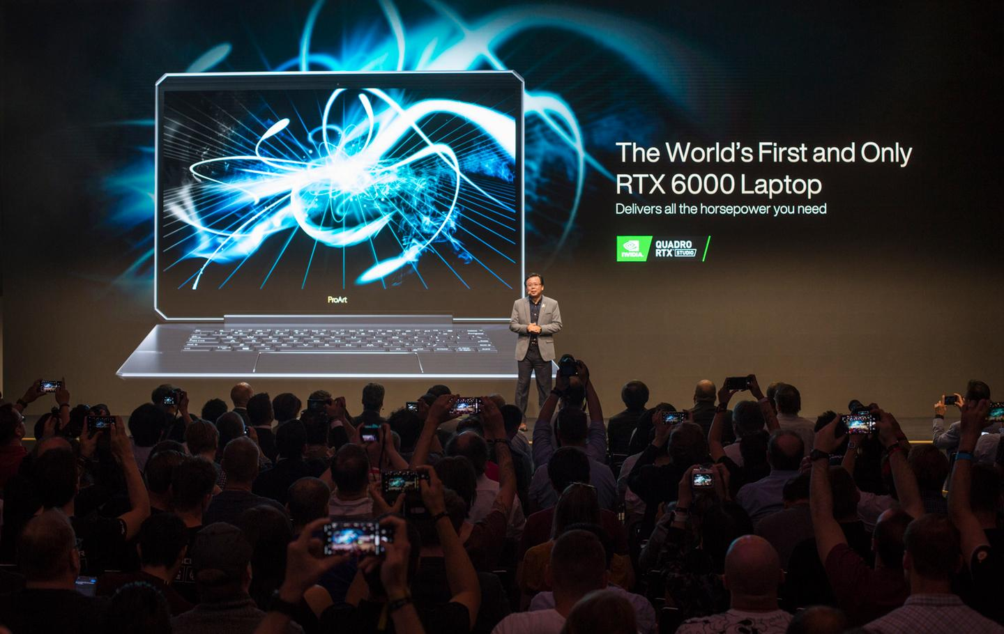 At IFA this week, Asus unveiled the world's most powerful laptop, the ASUS ProArt StudioBook Pro One