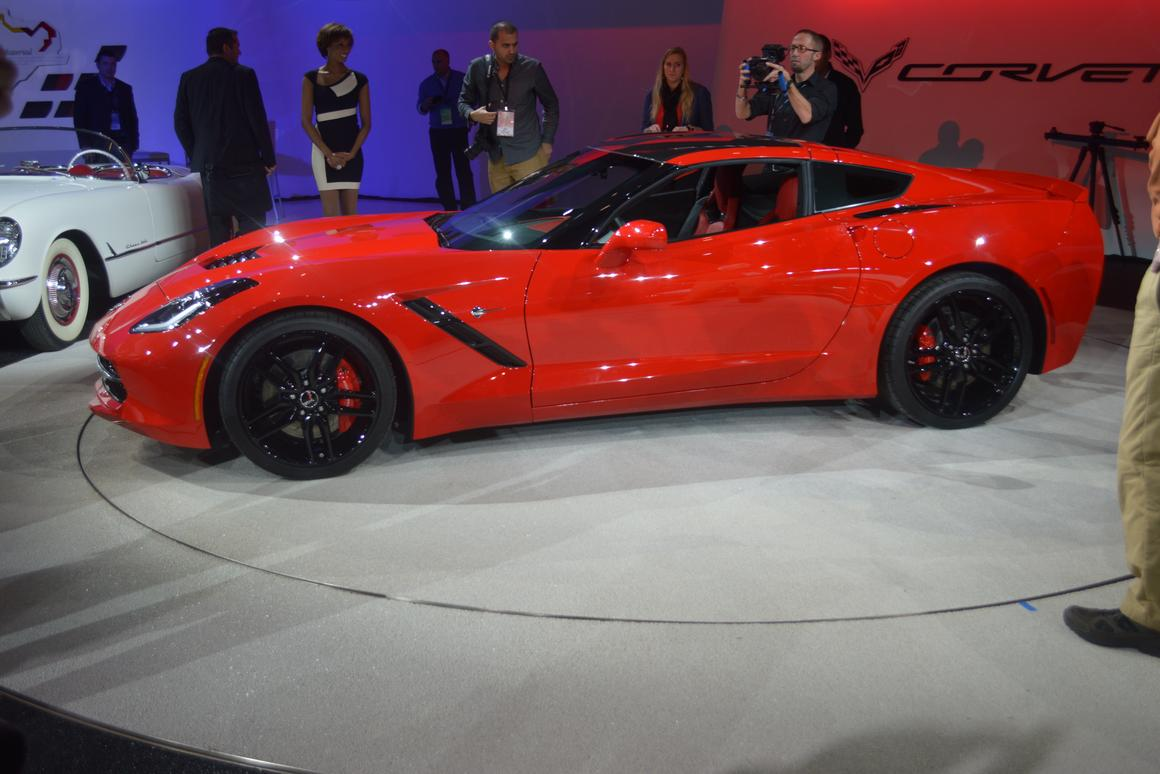 Fish out of water: The 2014 Corvette brings back the Stingray