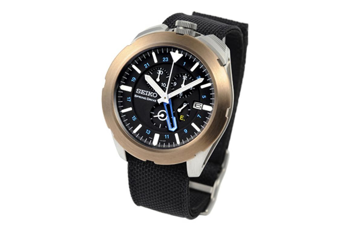 The Seiko Spring Drive Spacewalk watch is perfect if you're planning a leisurely Sunday afternoon walk - in space