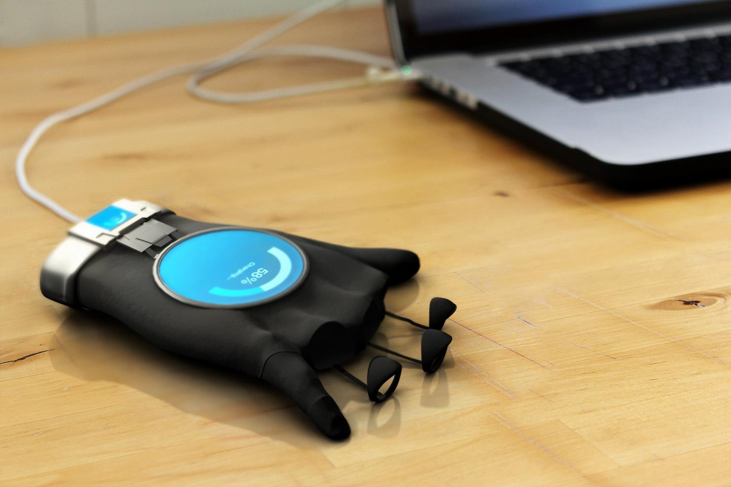 The device is still a prototype, and was created as the subject of a Masters thesis
