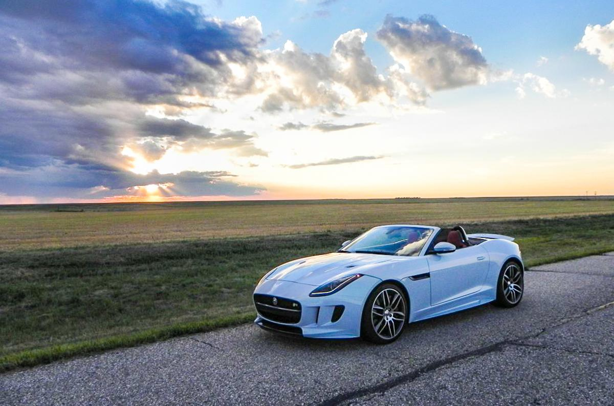 """It's that awesome"" – the 2016 Jaguar F-Type R Convertible's V8 outputs a phenomenal 550 horsepower and 502 pound-feet of torque"