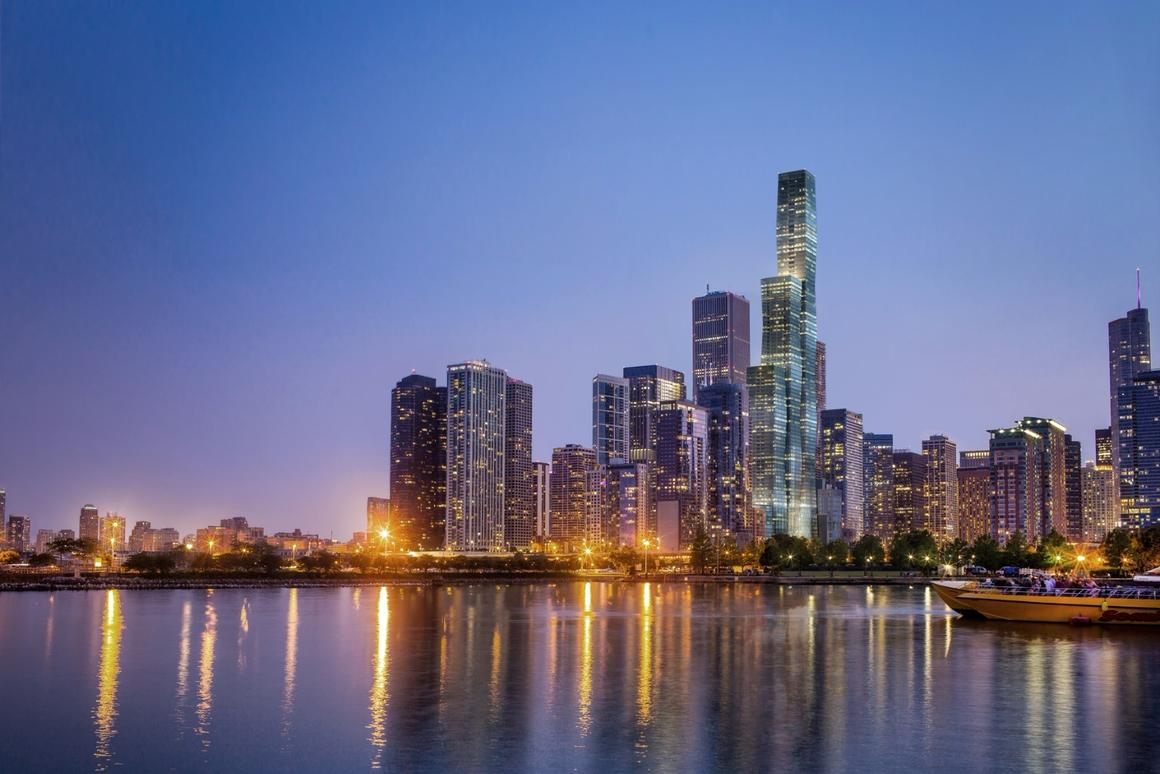 The Vista Tower will be located in the Lakeshore East neighborhood of Chicago