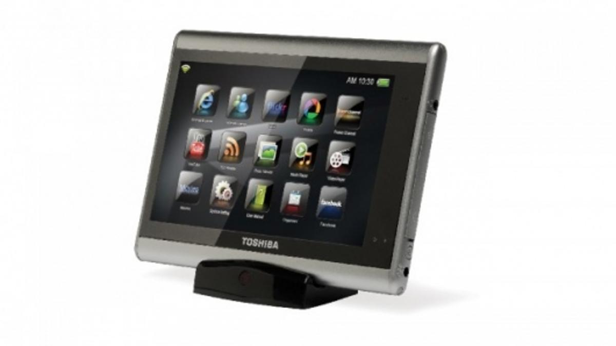 The Toshiba JournE touch puts entertainment and connectivity at families' fingertips