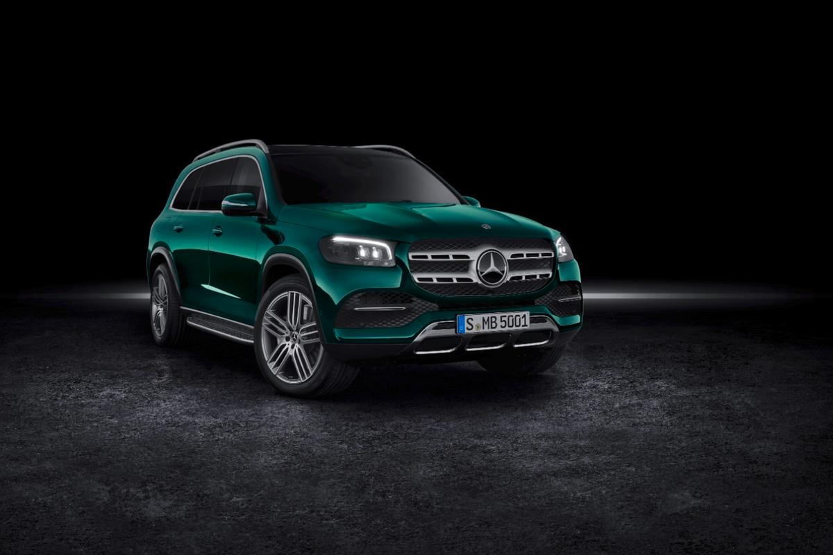 Mercedes' biggest and fanciest SUV just got bigger and fancier