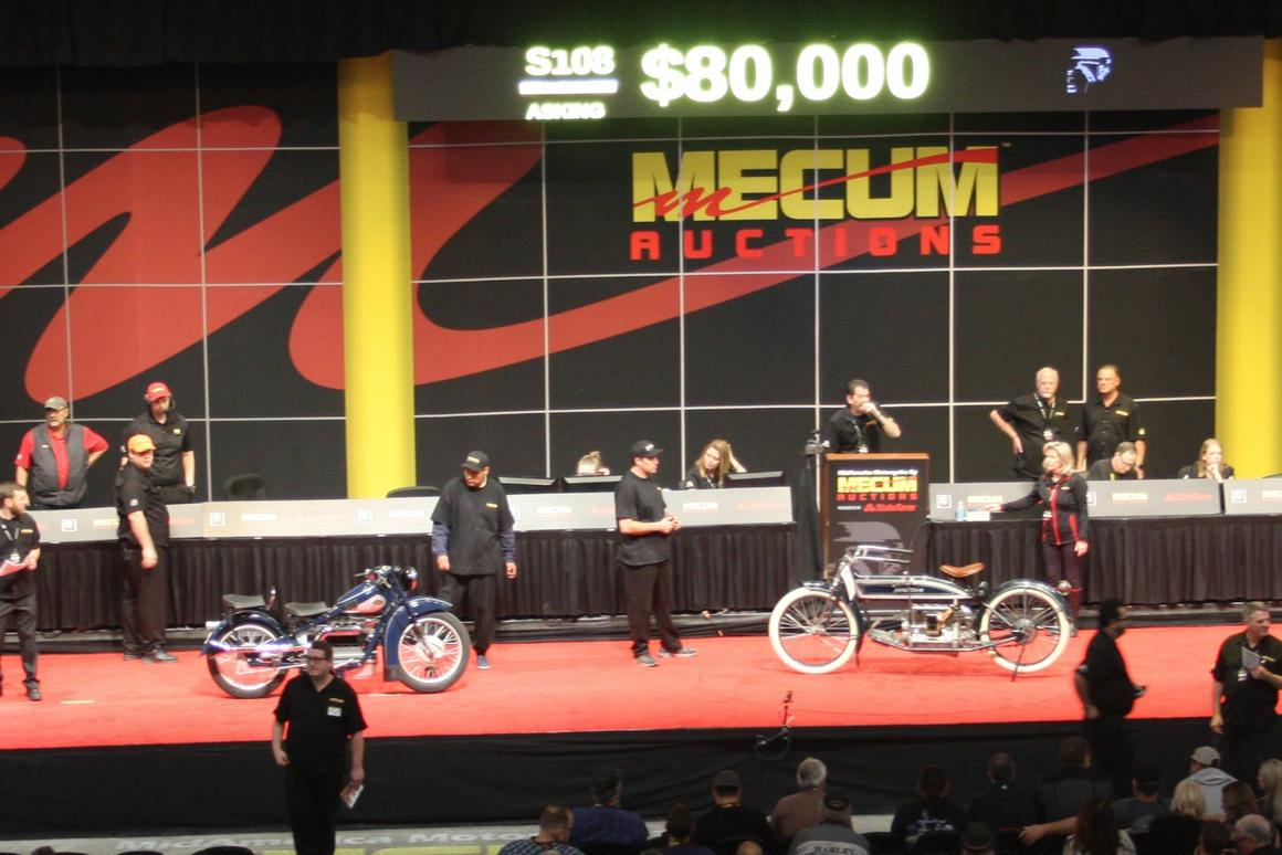 American fours crossing the auction block