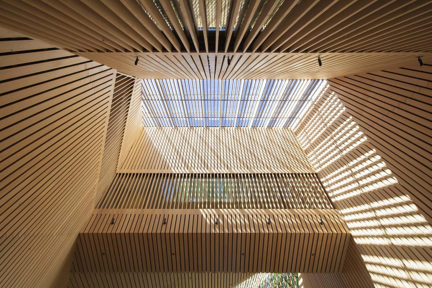 """By Vancouver-basedfirmPatkau Architects, the Audain Art Museum inWhistler, British Columbia earned an """"Honor"""" in the 2017 Wood Design and Building Awards"""