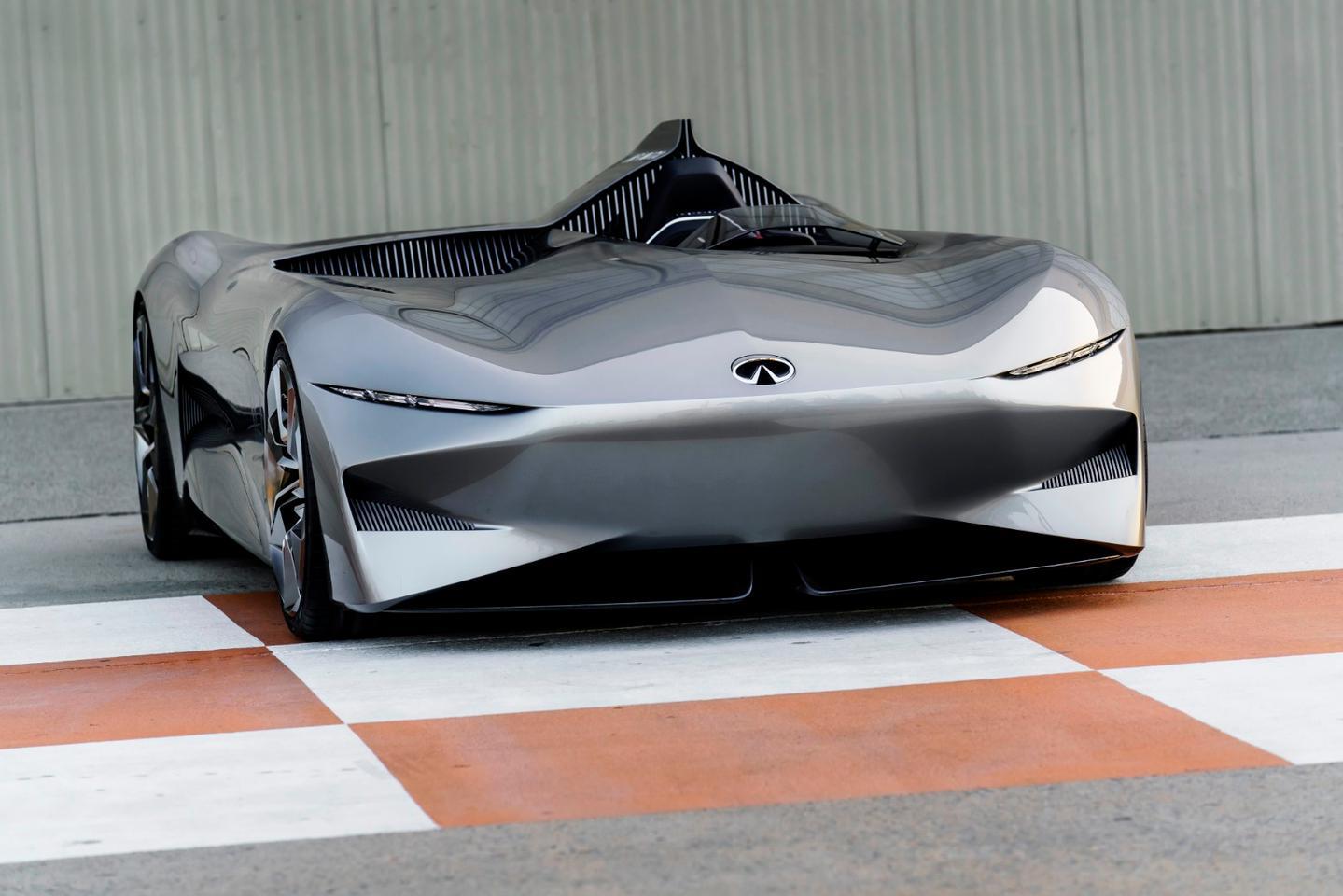 Infiniti Concept 10: open-top speedster