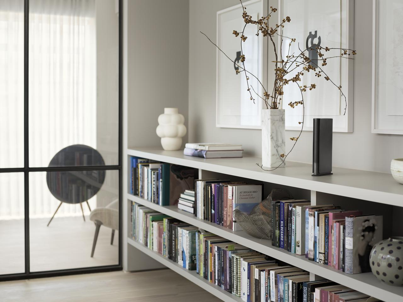 Though slim, B&O says that the Beosound Emerge will fill a room with sound