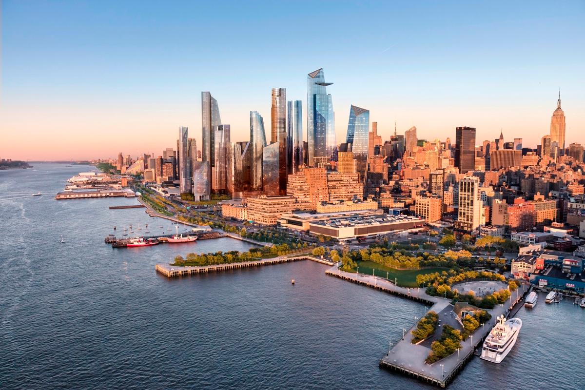 Hudson Yards is expected to be completed in 2025